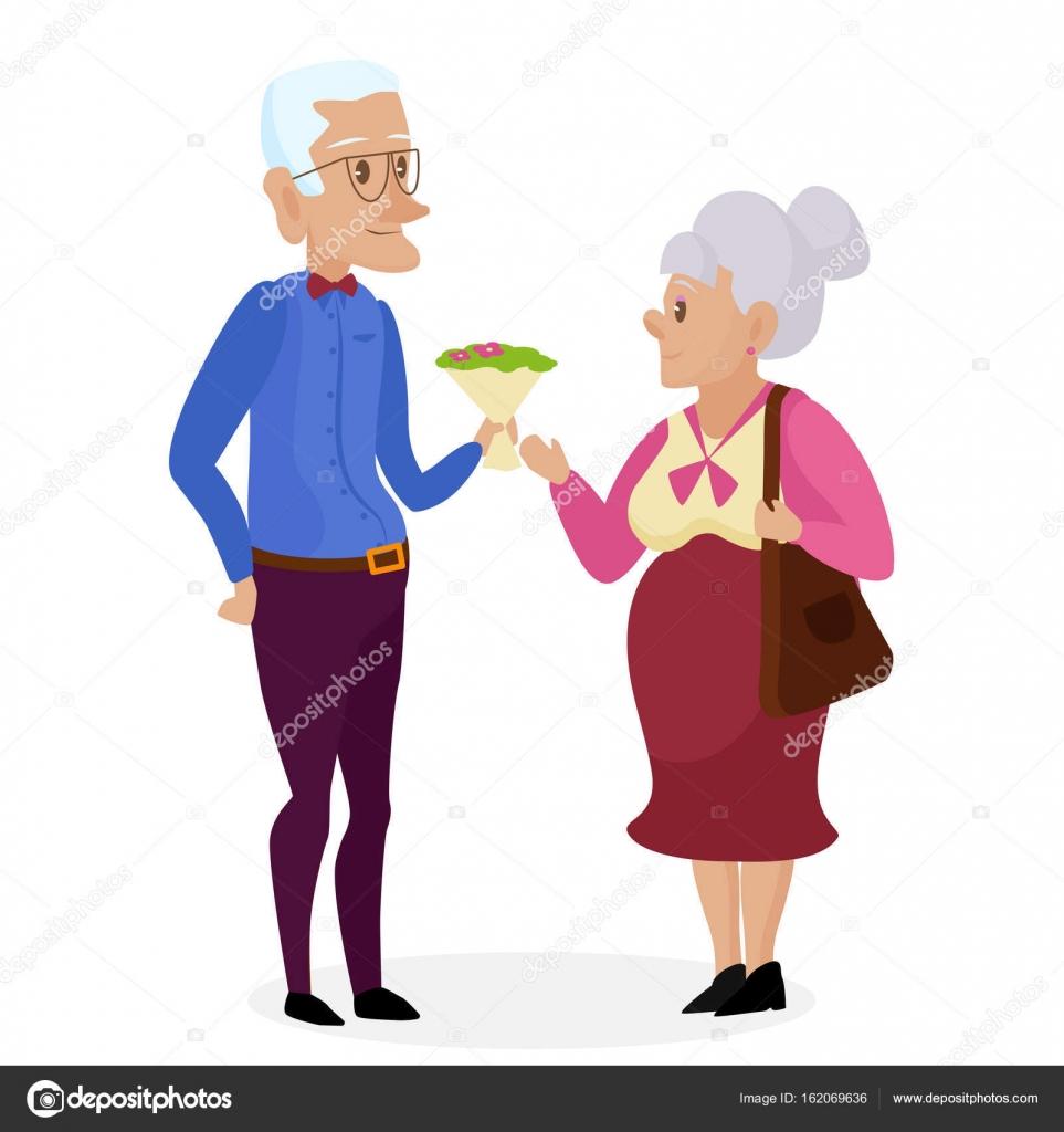 Wishes to Grandpa Happy Elderly Man 9