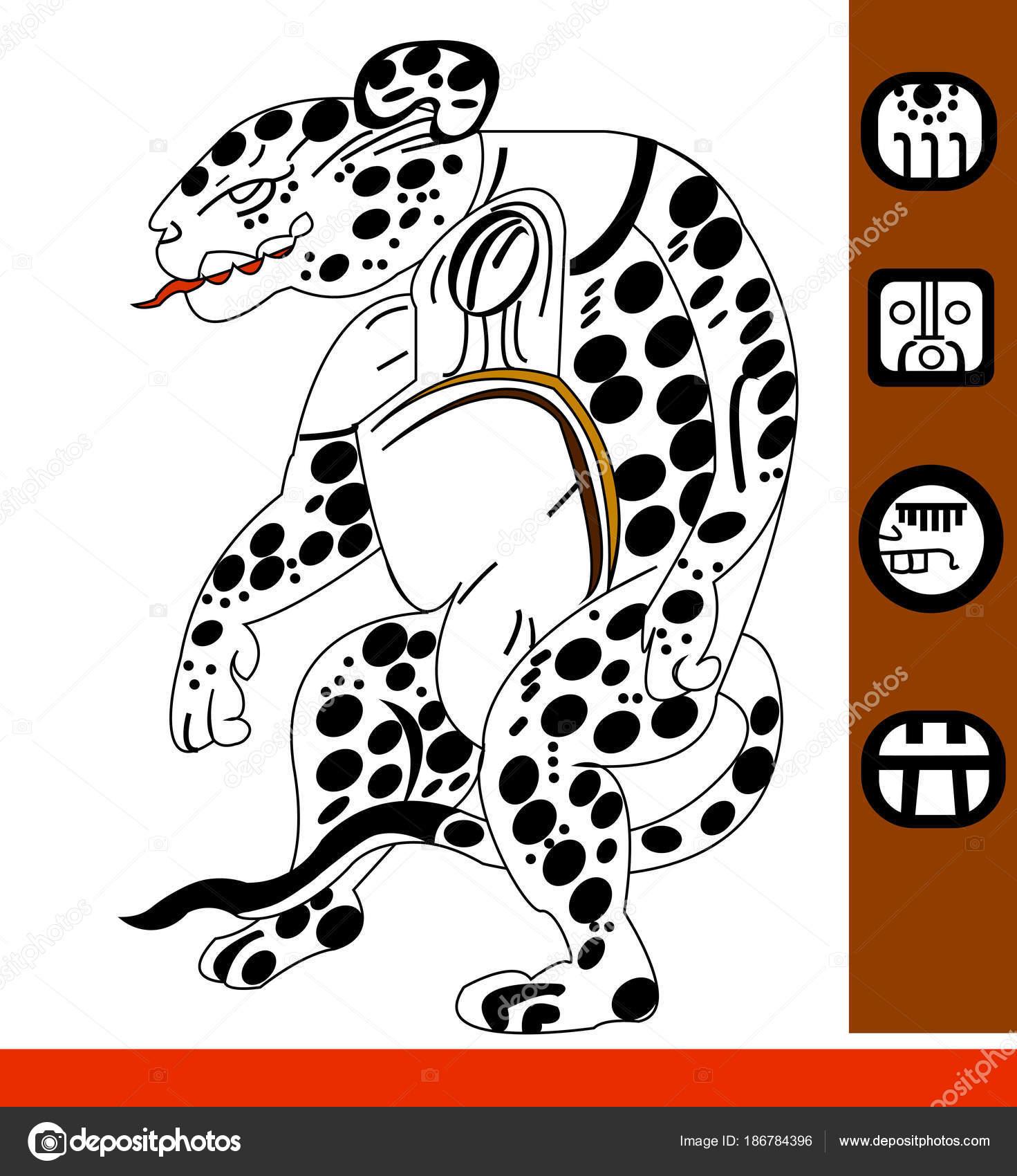 Imagenes Jaguar Maya Dibujo Jaguar Estampados Etnicos Los Nativos