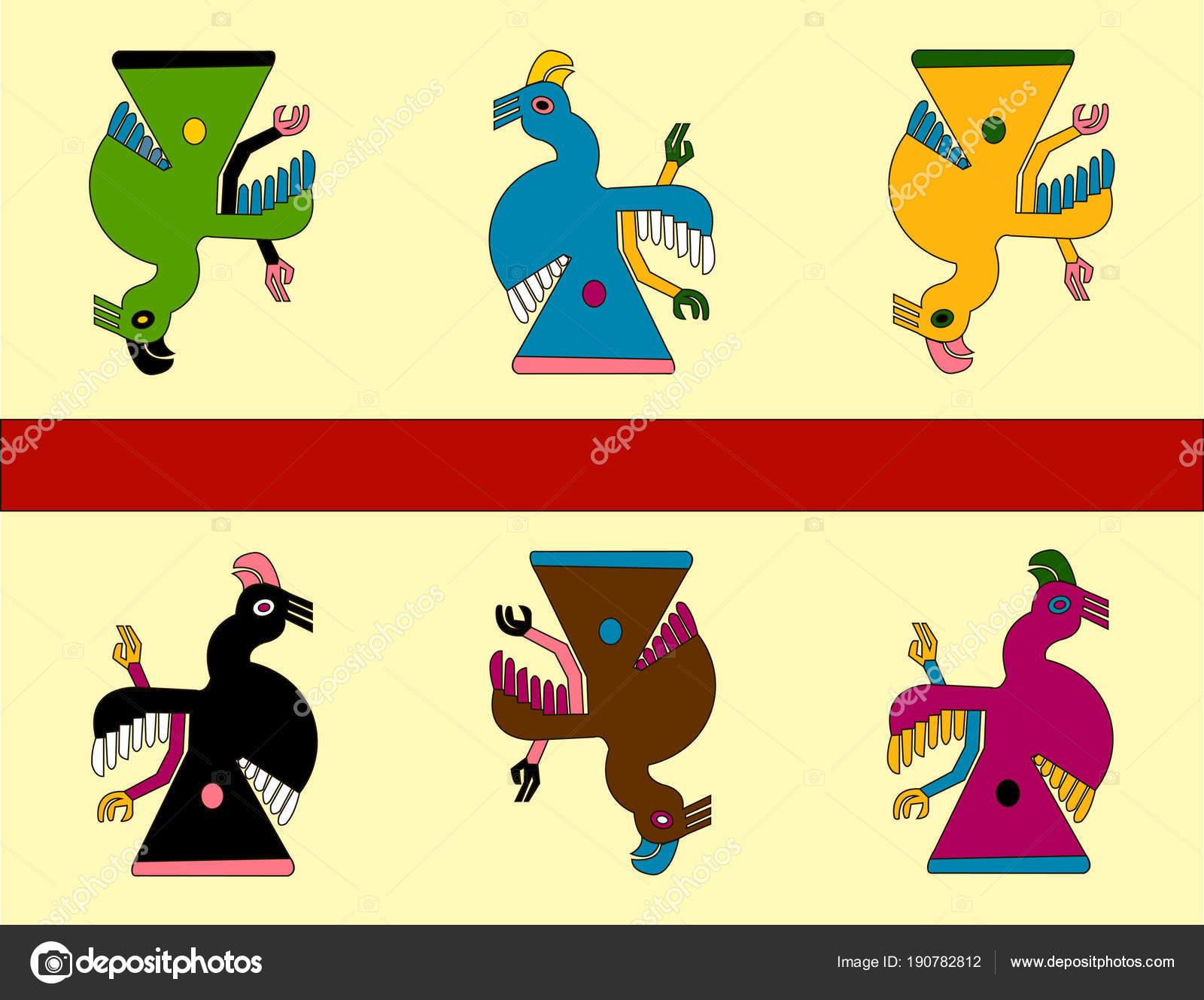 Dibujos Inditos Mexicanos Loros Estampados étnicos Los Nativos