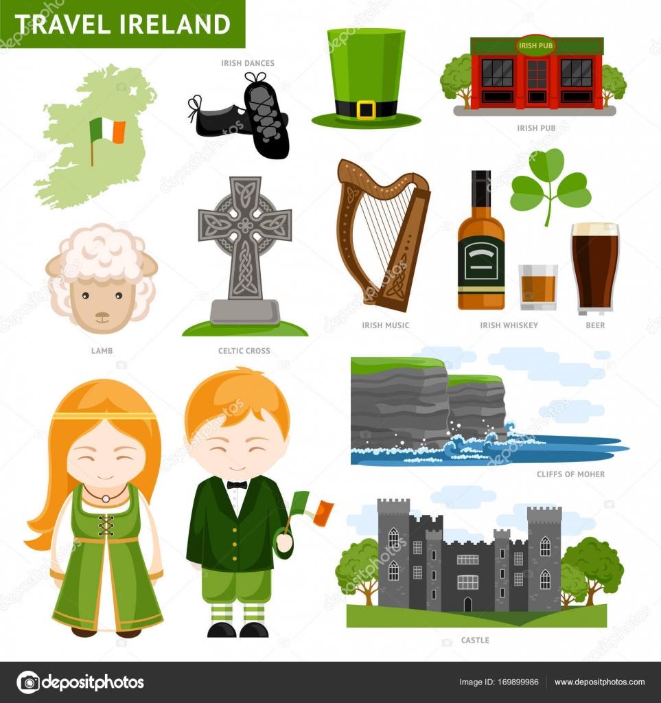 Travel To Ireland Stock Vector Arizona Dream 169899986