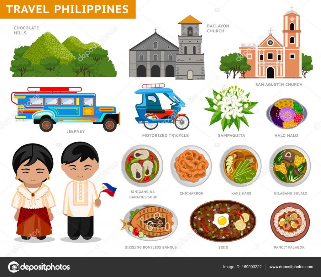 Reisen nach Philippinen — Stockvektor © arizona--dream #169900222