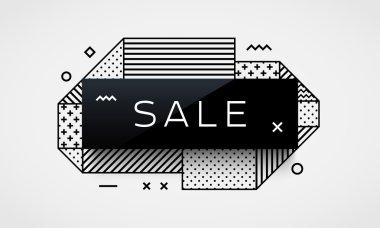 Trendy sale label