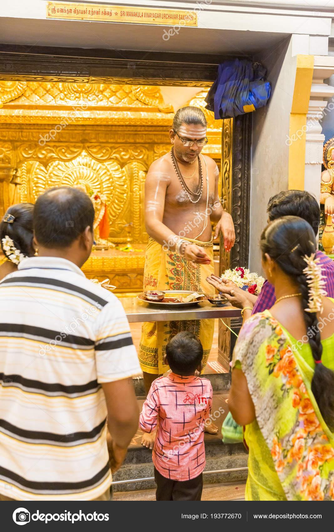 Documentary editorial  Arulmigu Manakula Vinayagar temple