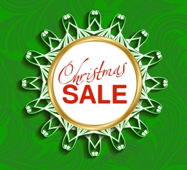 Design template Christmas sale