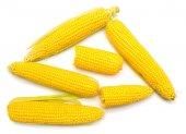 zralé žluté kukuřice