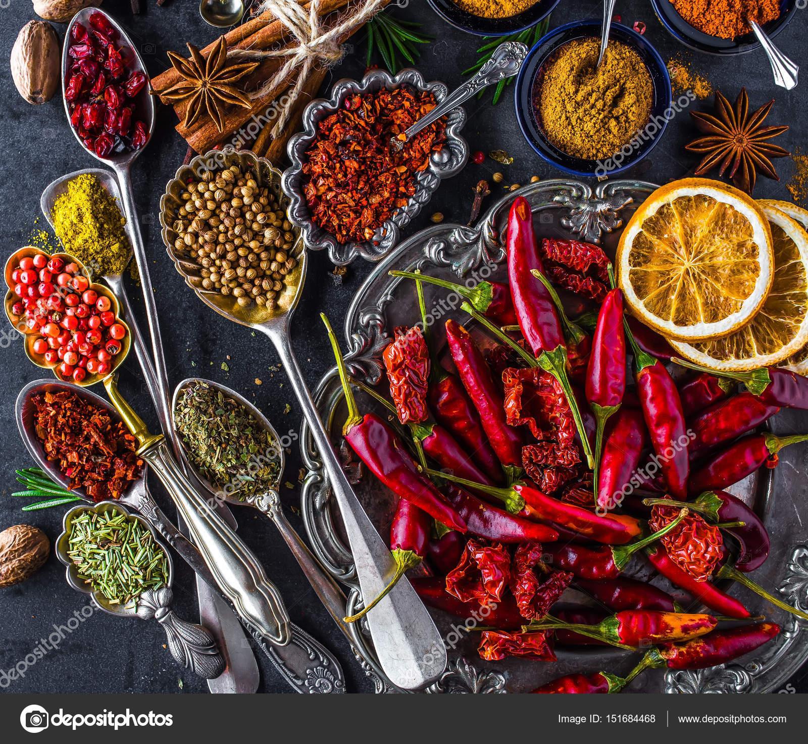 Baharatlar Ve En Çok Kullanıldığı Yemekler
