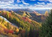 Karpaty na chladný podzim