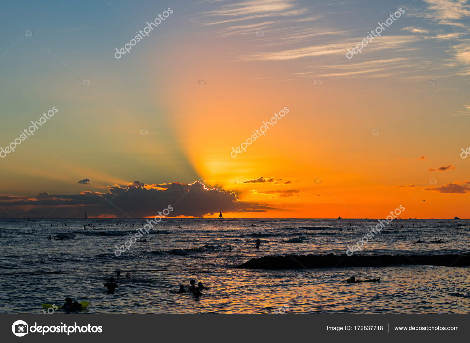 Pictures Nice Hawaii Beautiful Amazing Ocean Sunset View