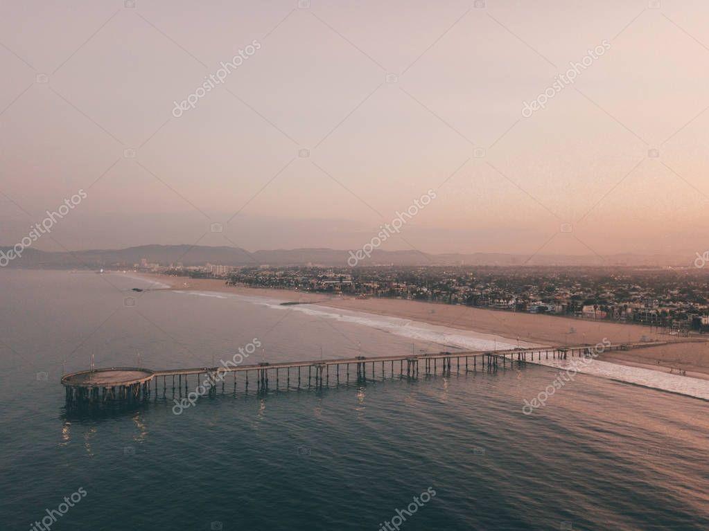 Venice beach pier near Santa Monica