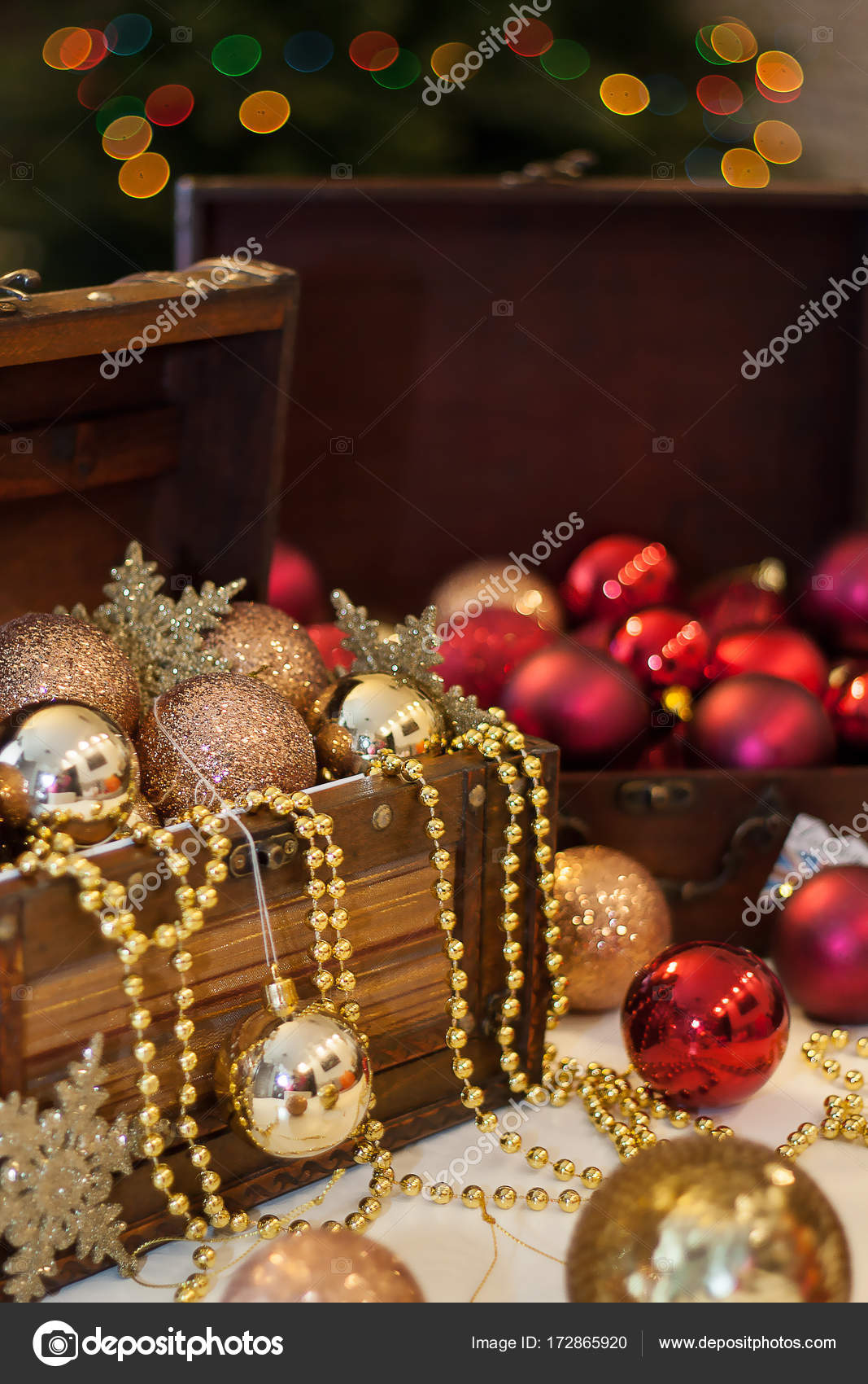 Beautiful Christmas Background Images.Very Beautiful Christmas Background Toys Decoration Stock