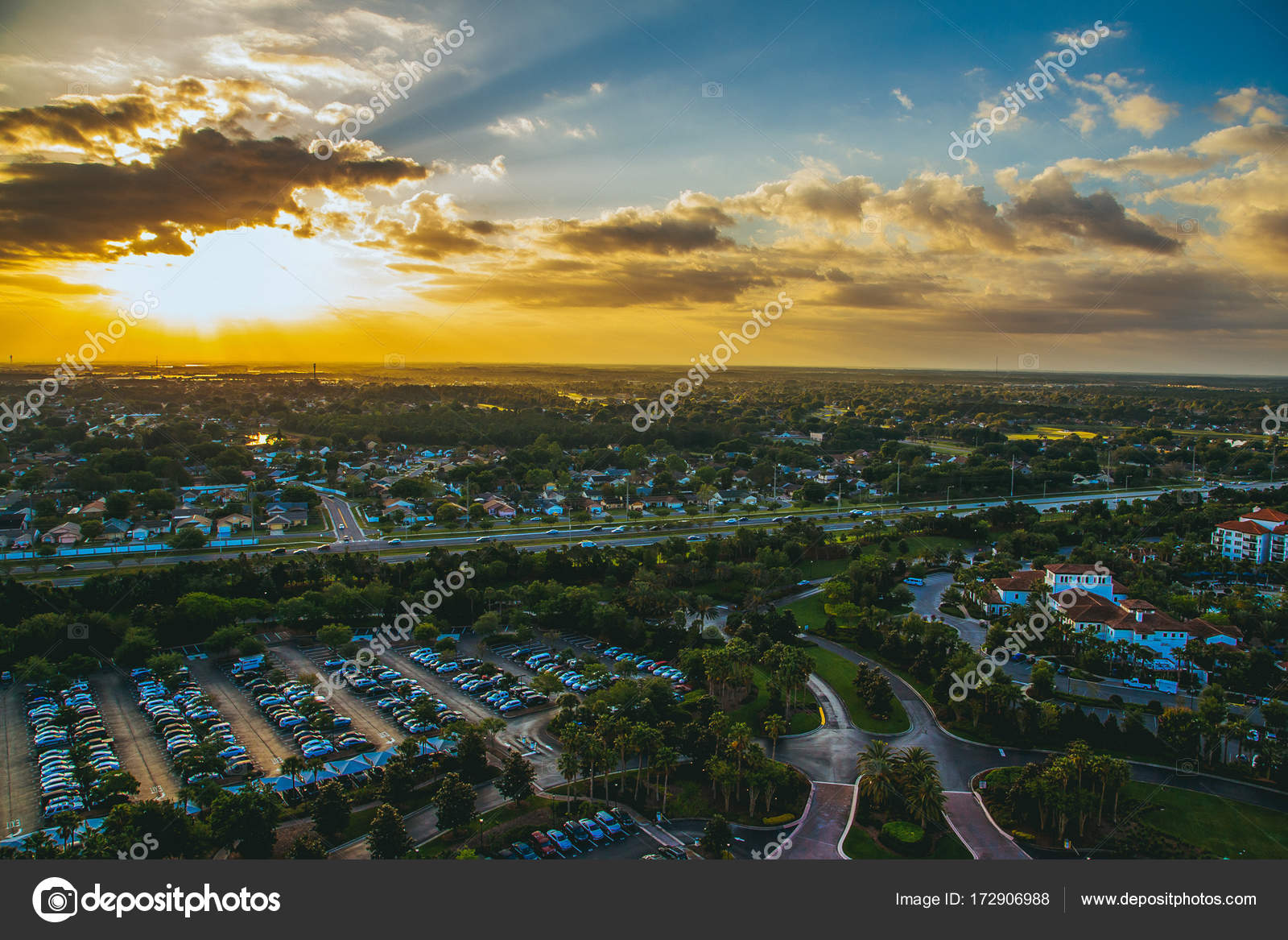 Amazing aerial sunset panorama view orlando florida state awesome amazing aerial sunset panorama view in orlando florida state awesome wallpaper orange sunset landscape view photo by ingusuklitisail voltagebd Image collections