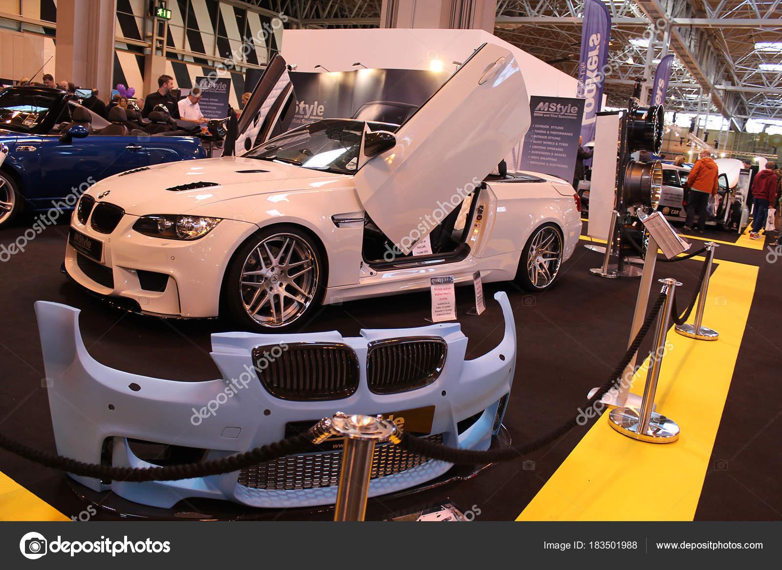 Birmingham October 2012 Bmw Tuning Cars Display Top Gear Car Stock