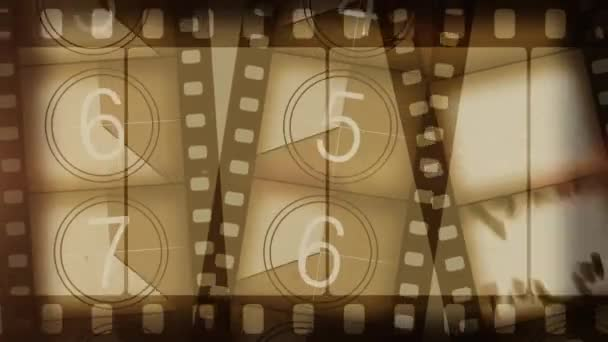 starý filmový pás pozadí