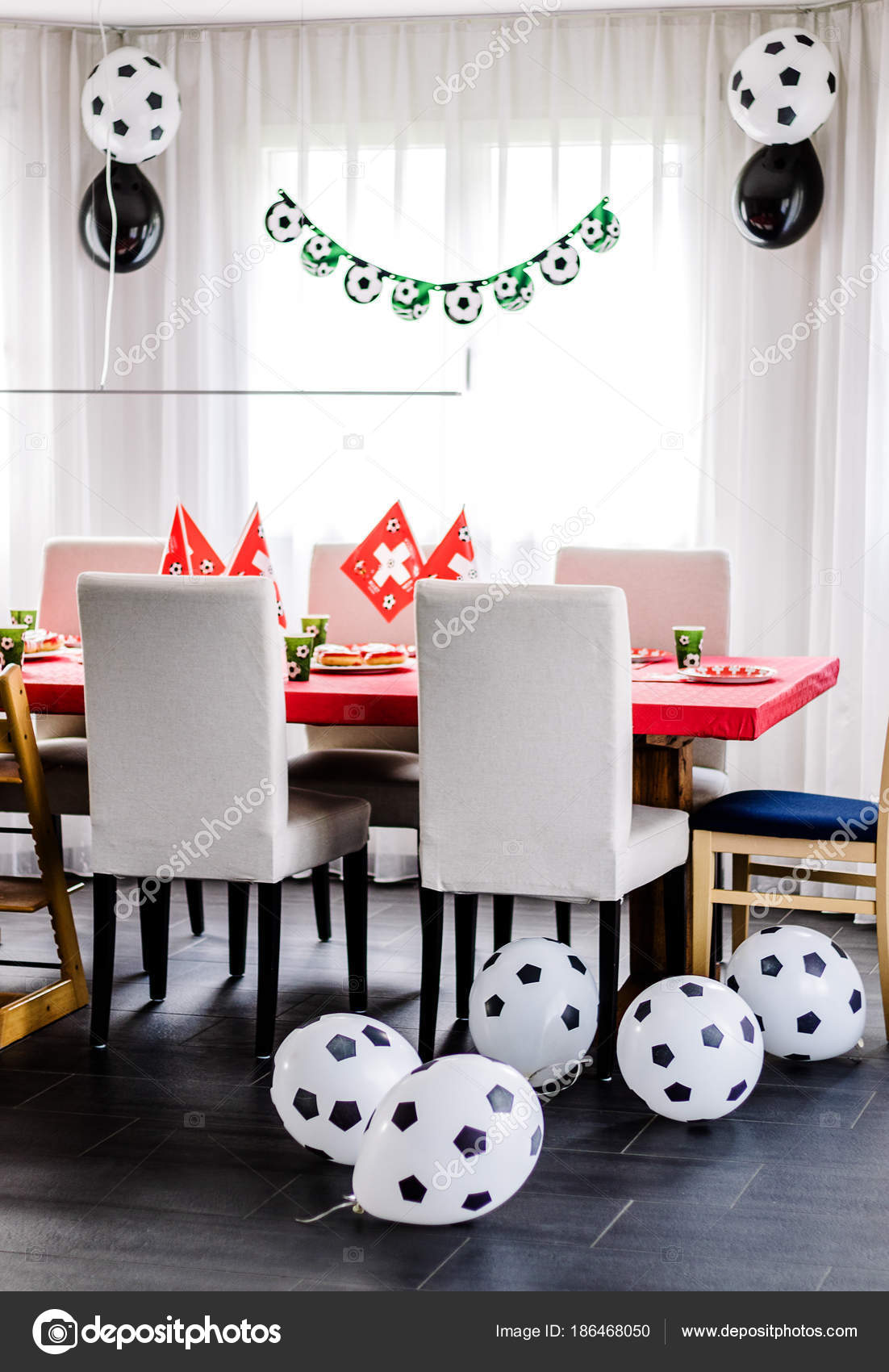 Stupendous Pictures Football Birthday Kids Birthday Party Football Caraccident5 Cool Chair Designs And Ideas Caraccident5Info
