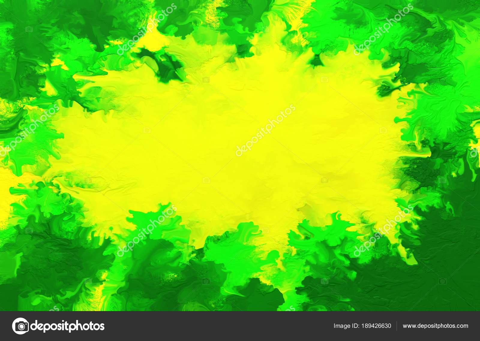Abstract oil painting background colorful digital illustration stock image