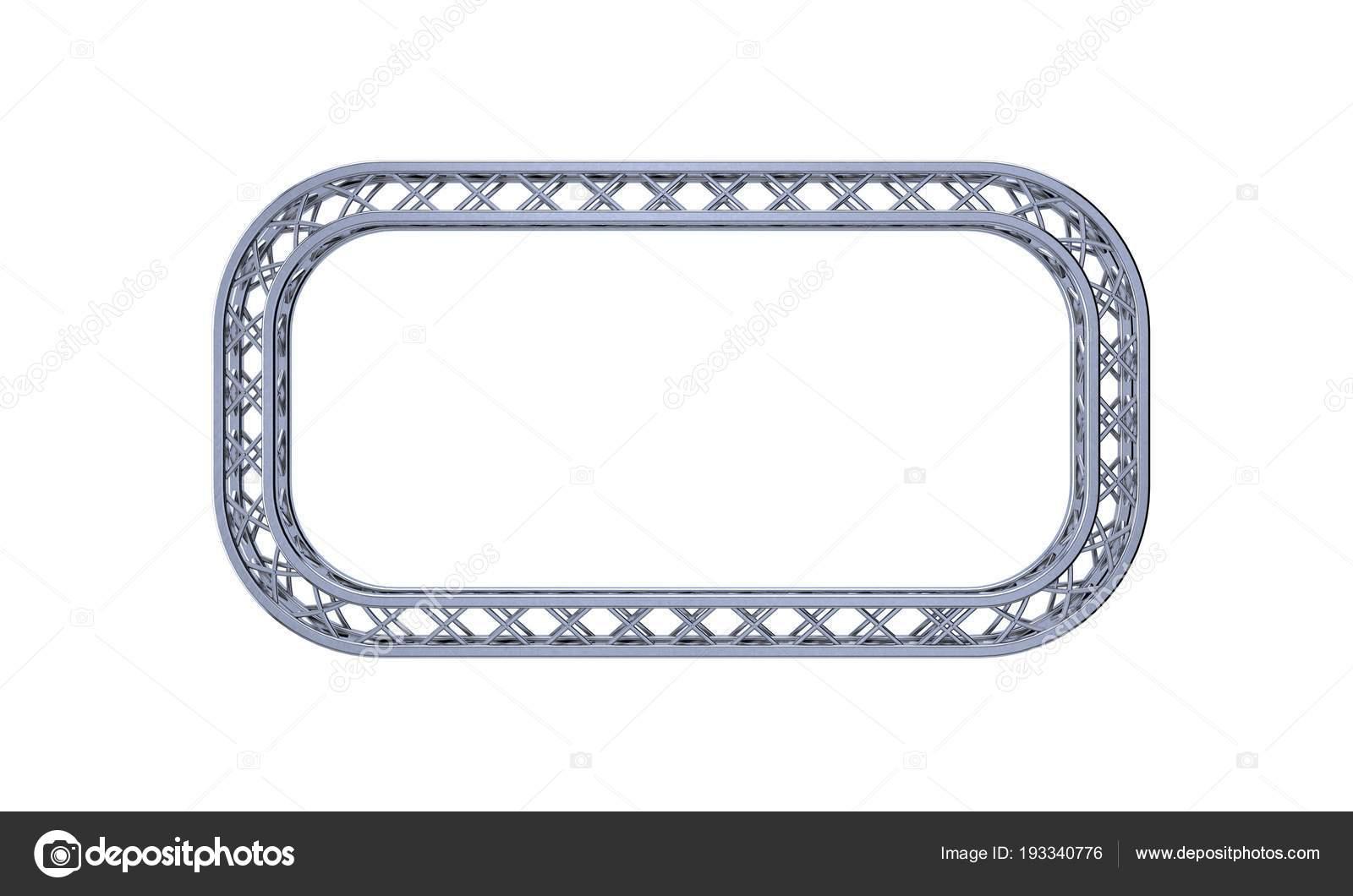 Traversen Rahmen in Form von rectangle.3d Darstellung Abbildung ...