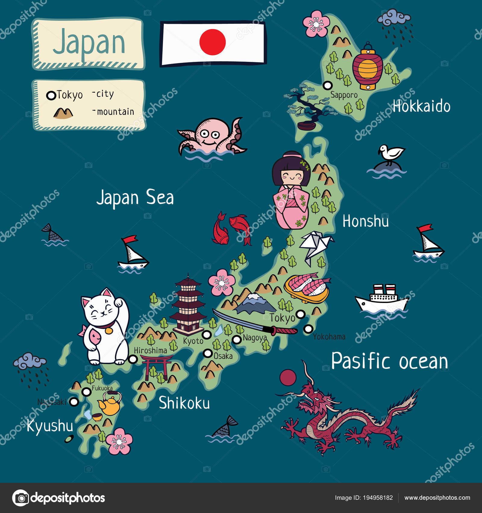 Cartoon Map Japan — Stock Vector © lashmipics #194958182 on map of georgia, map of south america, map of germany, map of canada, honshu japan, hamamatsu japan, yokota japan, sendai japan, map of us, languages spoken in japan, map of florida, map of europe, winter in japan, map of ohio, hyogo japan, map of california, map of the united states, map of north carolina, map of china, map of virginia, kawasaki japan, kanagawa japan, world map japan, printable map japan, hakone japan, map of mexico, map of usa, map of the world, nikko japan, gifu japan, nagoya japan, hiroshima japan, map of italy, info about japan, takayama japan, mountains in japan, map of africa, map of texas,