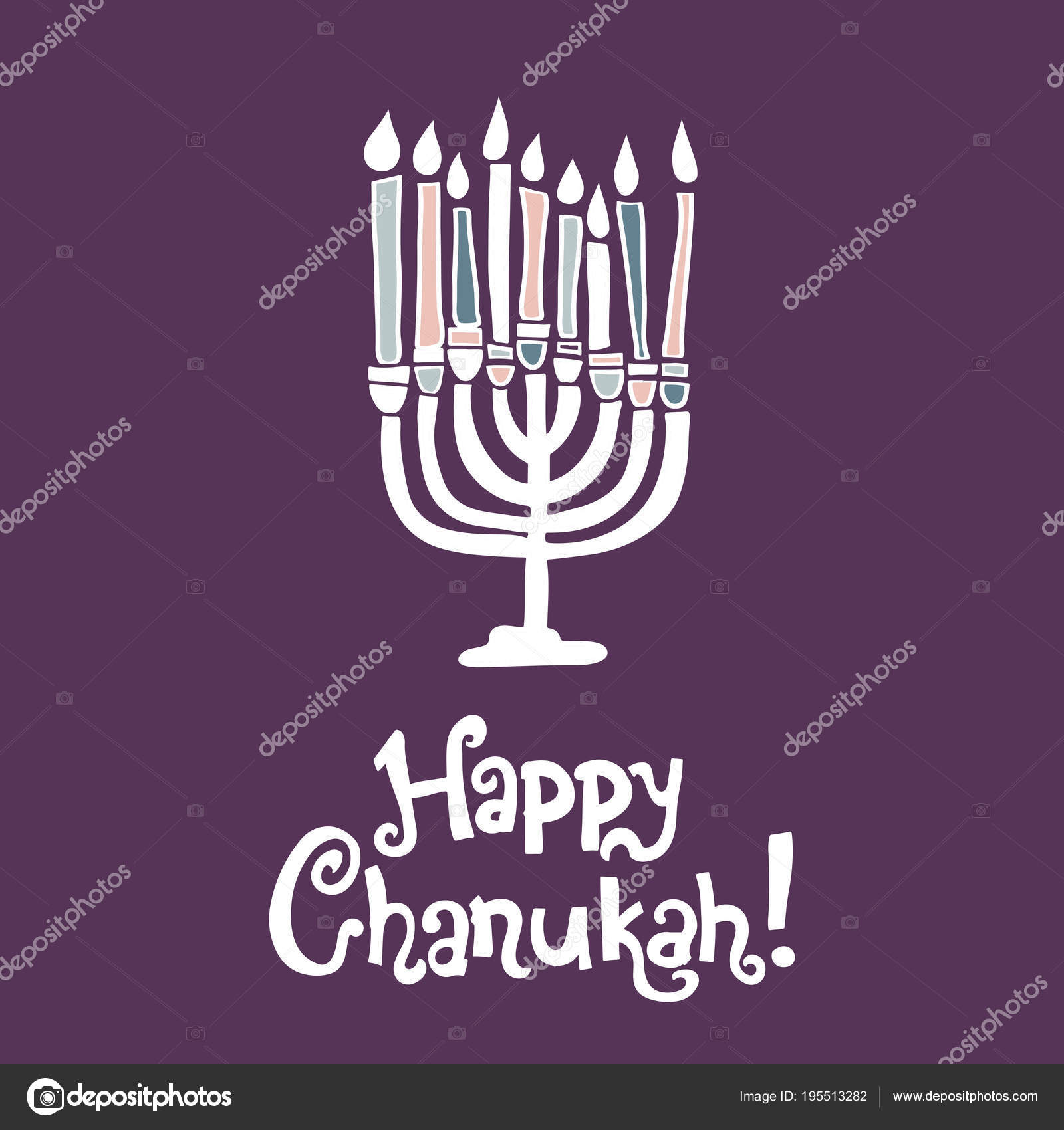 Happy chanukah greeting card stock vector lashmipics 195513282 happy chanukah greeting card stock vector m4hsunfo
