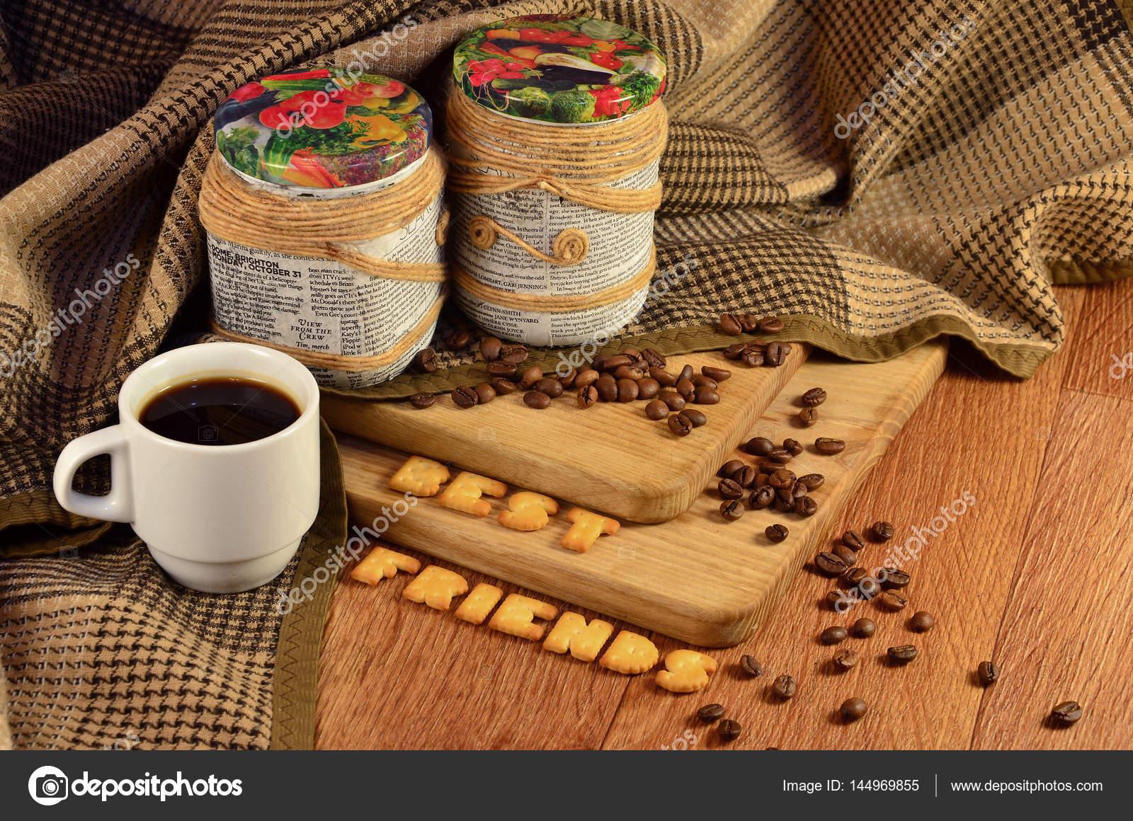 Beste Vrienden Koffiekopje En Een Tekst Samengesteld Uit