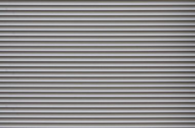 The texture of the shutter door or window in light gray color