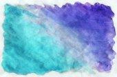 Fotografie Bunten blauen Aquarell Hintergrund für Tapeten. Aquarell-bri