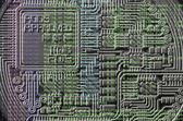 Fotografie Bild des Programmcodes zeigt den Prozess der Gewinnung der Krypto Währung im Hintergrund des Bildes mit bitcoin