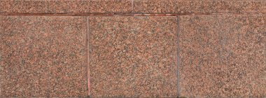 The texture of matte treated brown granite