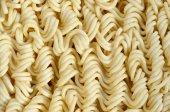 Zár-megjelöl kilátás-sárga száraz instant tészta. Hagyományos kínait