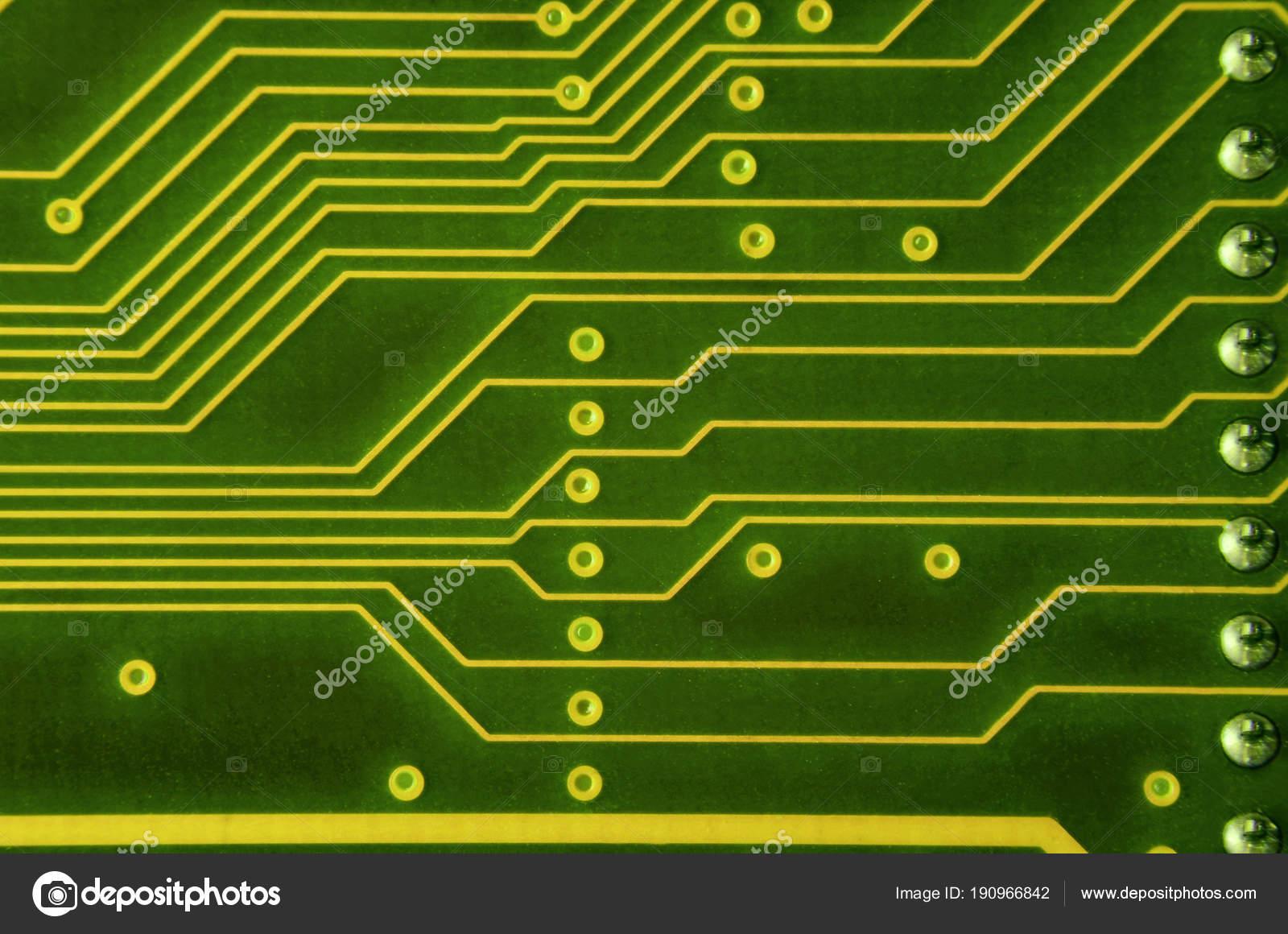 Computer Circuit Board Diagram