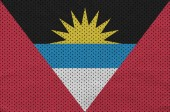 Antigua and Barbuda flag printed on a polyester nylon sportswear