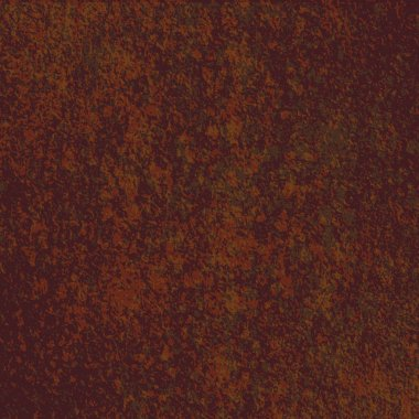old-style rust texture.