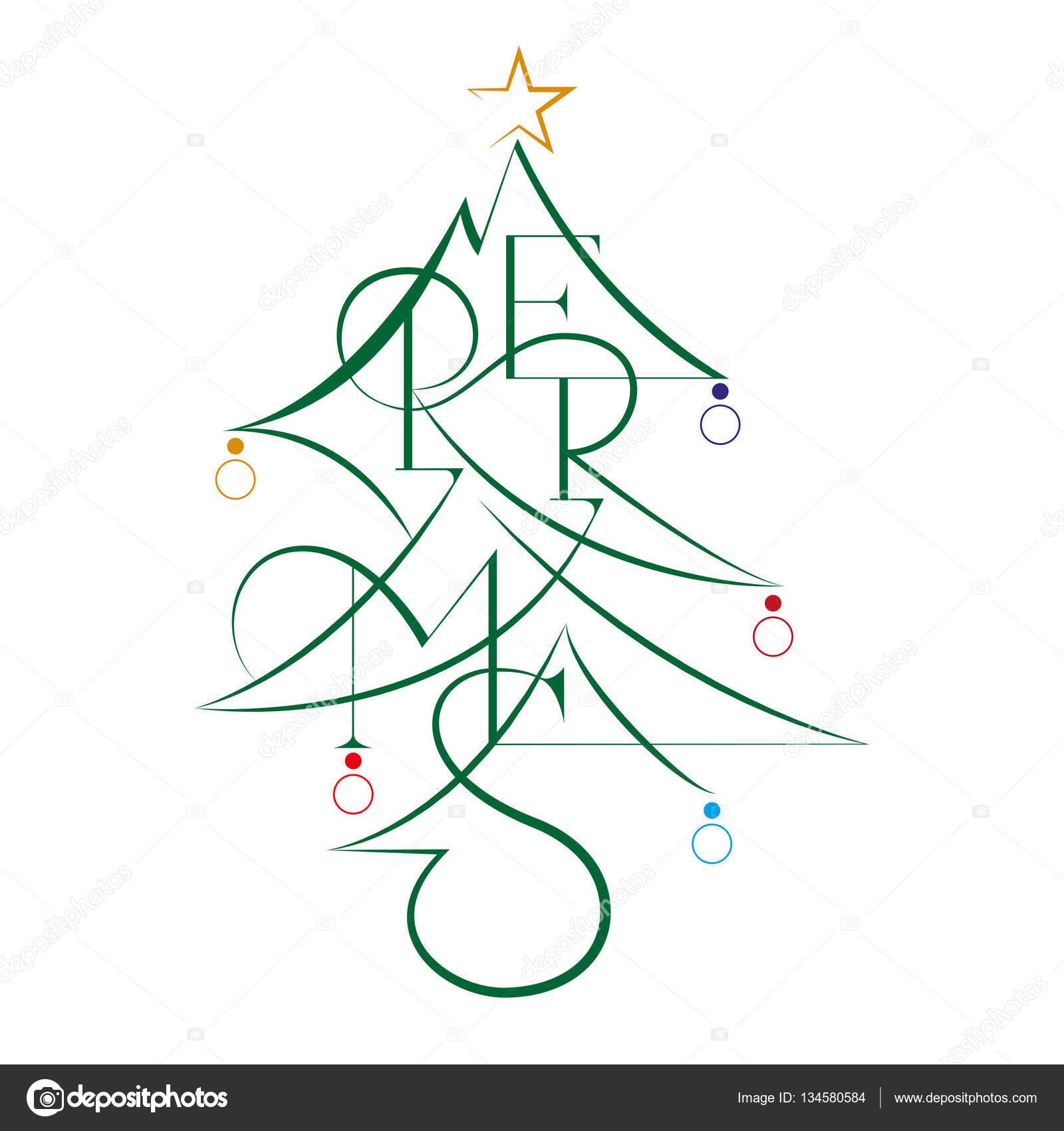 Text Weihnachtsgrüße.Frohes Neues Jahr Und Frohe Weihnachten Abstrakten Text