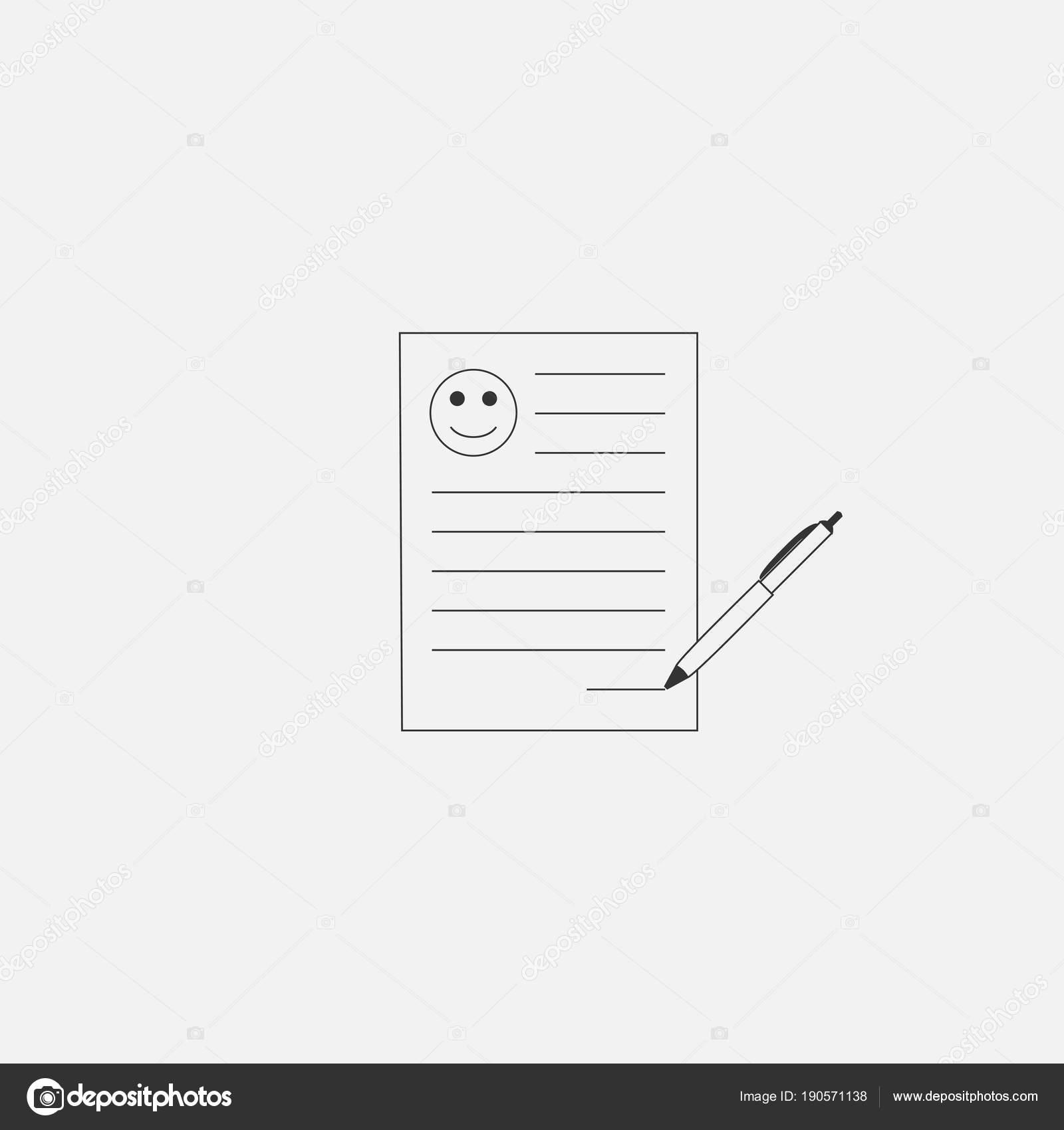 Icono símbolo curriculum web en estilo moderno aislado sobre fondo ...