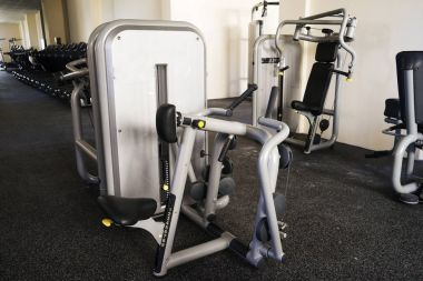Selection of different exercise machines
