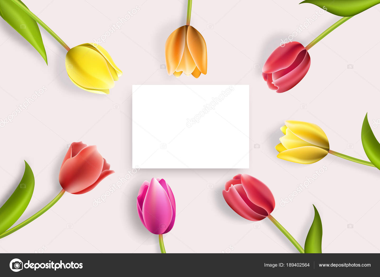 Happy Mothers Day Lettering Mothers Day Greeting Card With Blooming