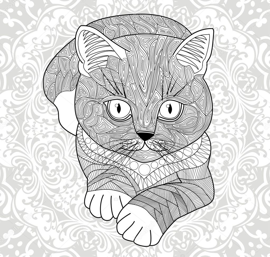 Plinth For T Shirts Vector Coloring Pages For Adults Antistress