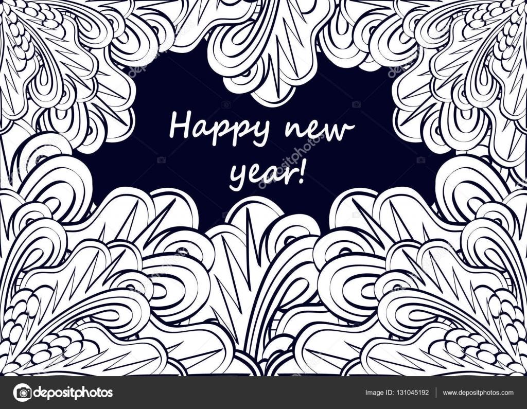 Kleurplaten Gelukkig Nieuwjaar 2019.Gelukkig Nieuwjaar Kleurplaten Voor Volwassenen En Oudere Kinderen