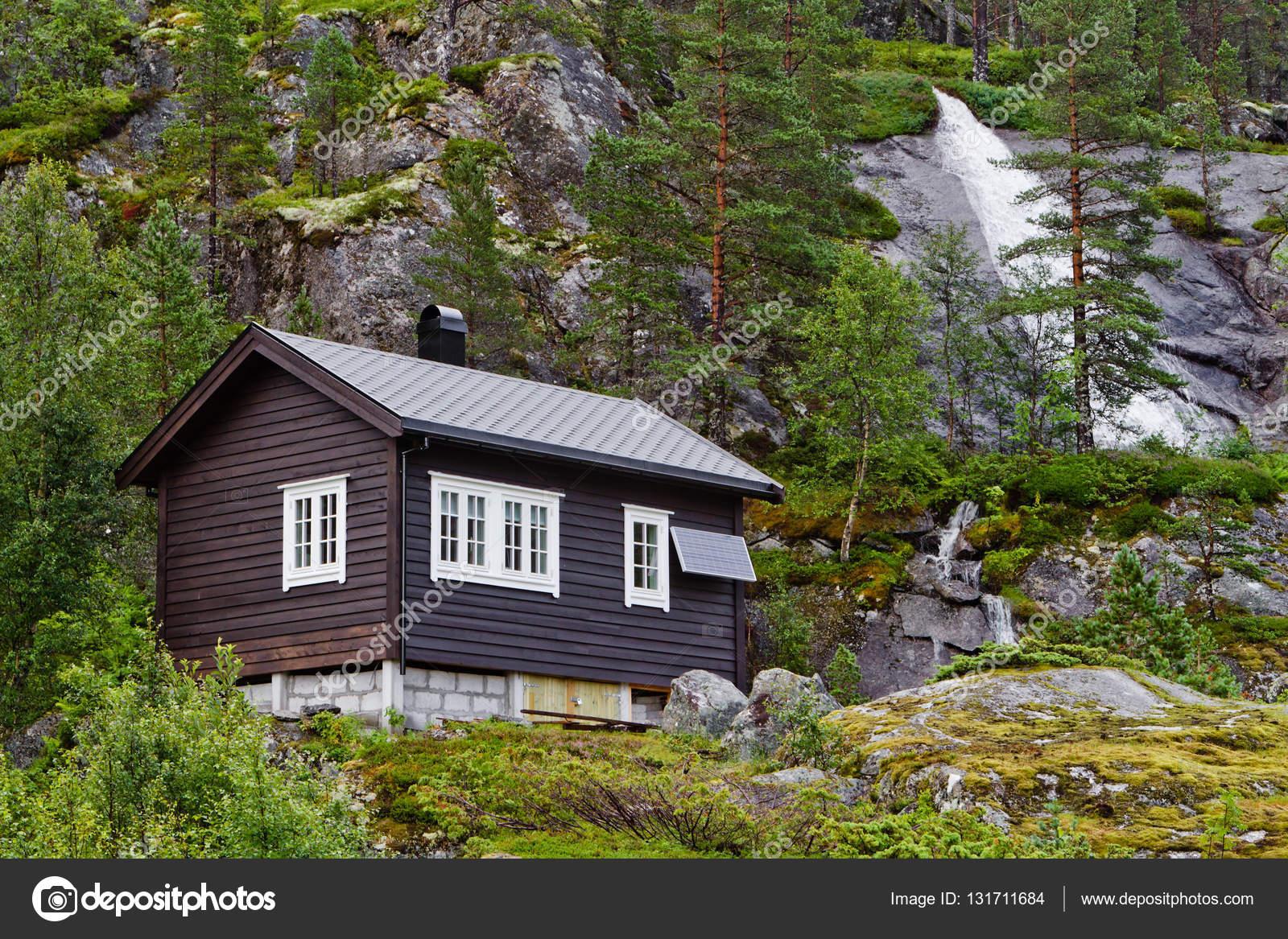 Casas Noruegas De Madera Tradicional Casa De Madera Noruega Con
