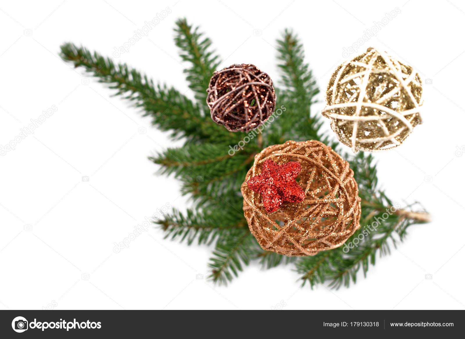 Imagenes Stock Adornos Navidad Mimbre Decoracion Navidad Fondo - Adronos-de-navidad