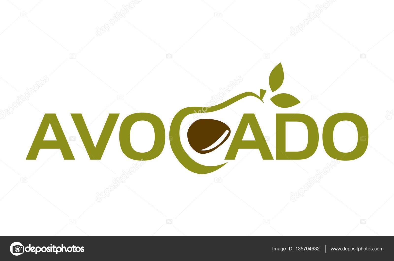 Lettre Avocat Fruit Logo Image Vectorielle Alluranet