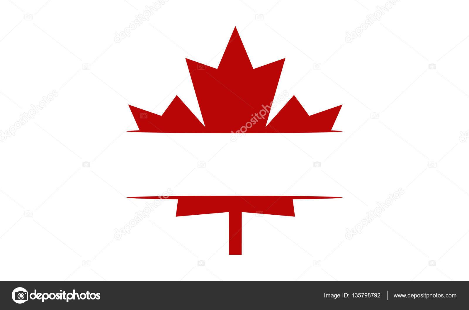 Kanada-Logo leere Vorlage — Stockvektor © alluranet #135798792