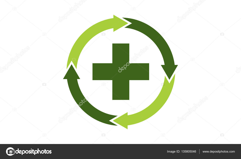 Medical Health Solutions Center Stock Vector Alluranet 135805046