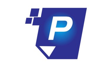 Digital Paper Initial P