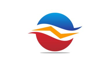 Service Air Conditioner Center clip art vector
