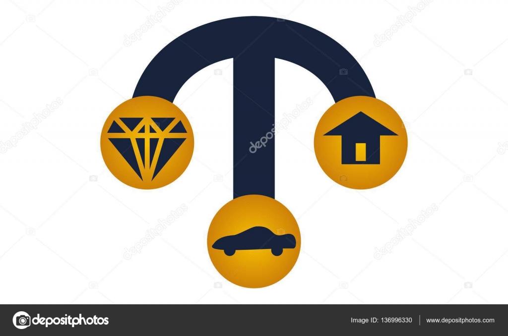 Pawn Shop Diamond Car Home Stockvektor Alluranet 136996330