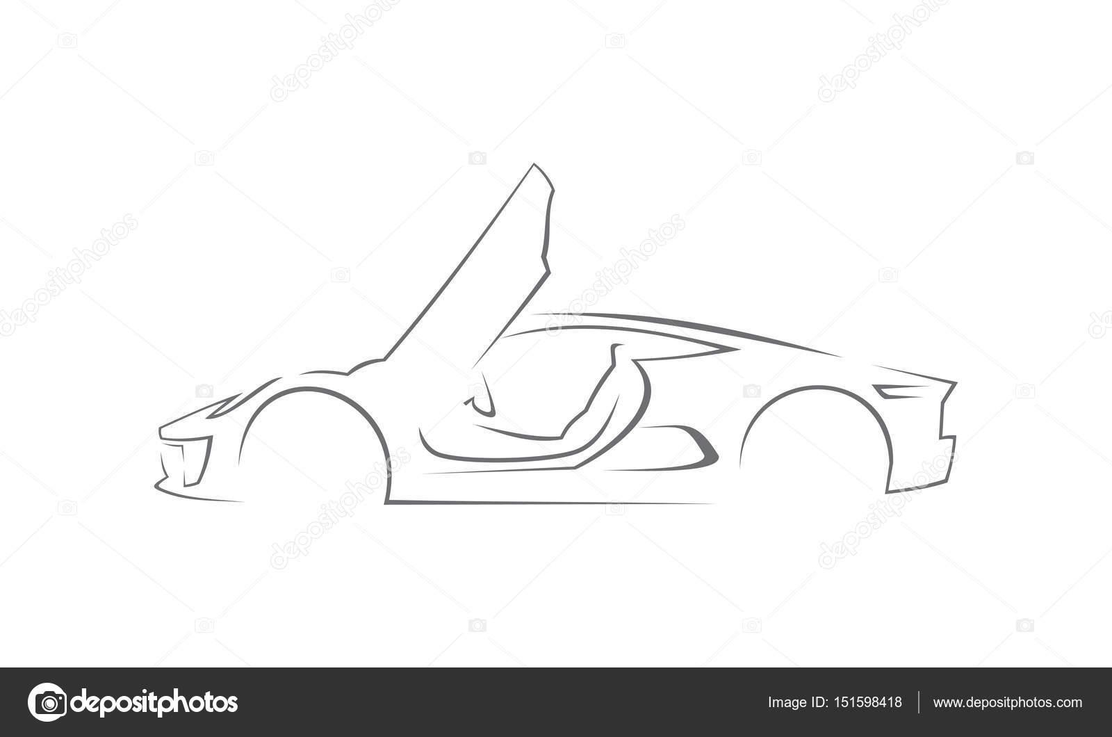 Plantilla de logotipo de coche — Foto de stock © alluranet #151598418