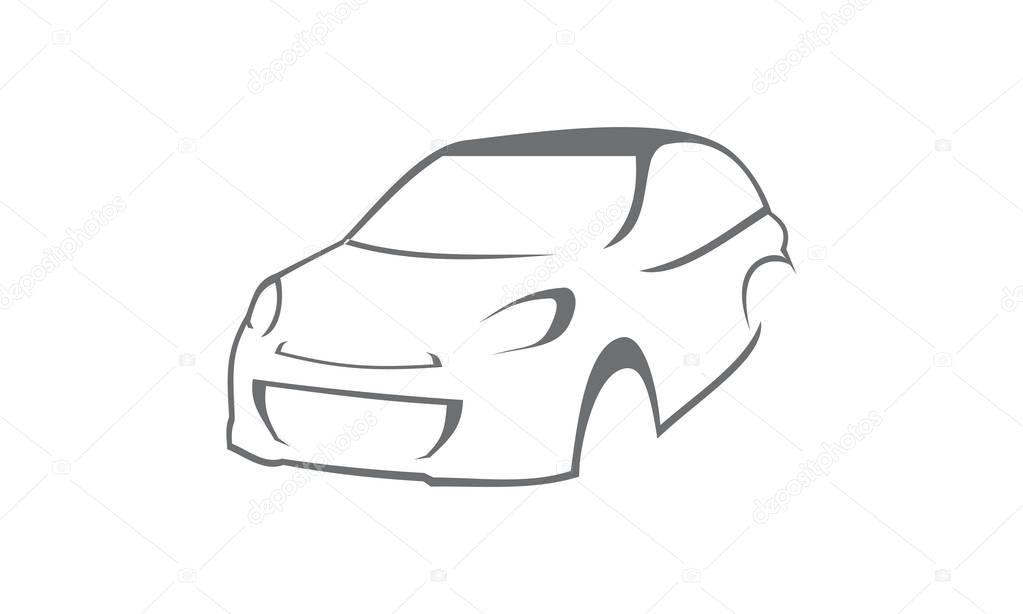 Ziemlich Auto Umriss Vorlagen Ideen - Dokumentationsvorlage Beispiel ...