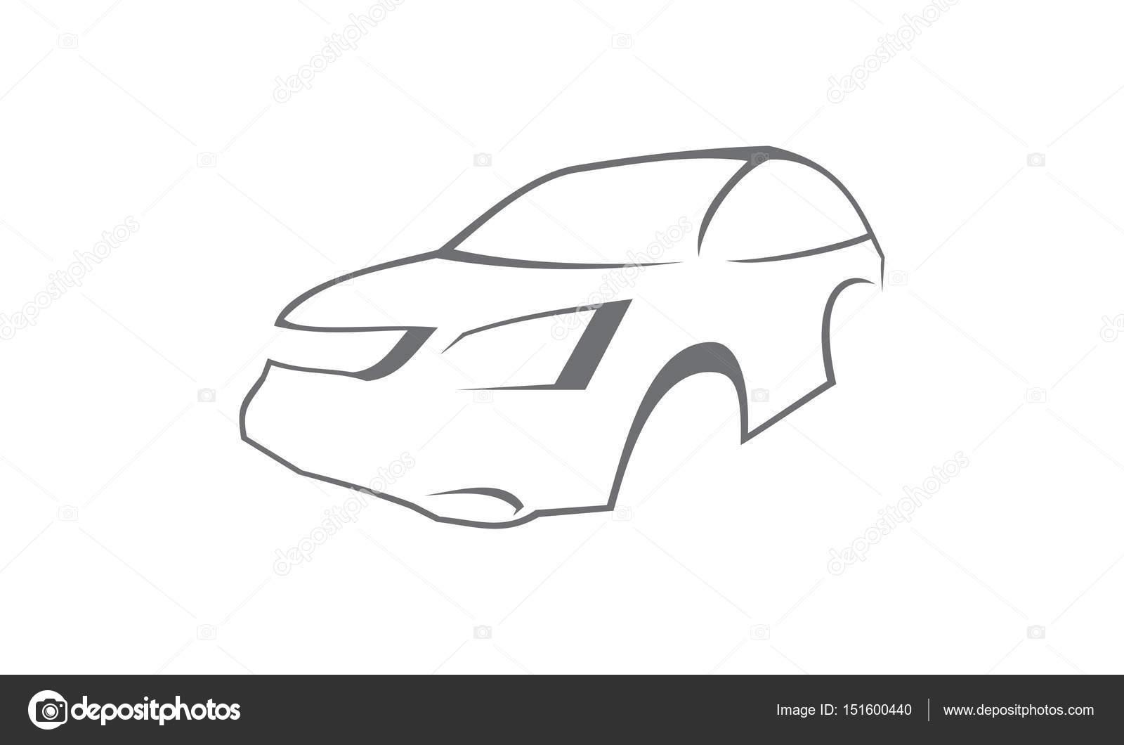 Plantilla de logotipo de coche — Fotos de Stock © alluranet #151600440