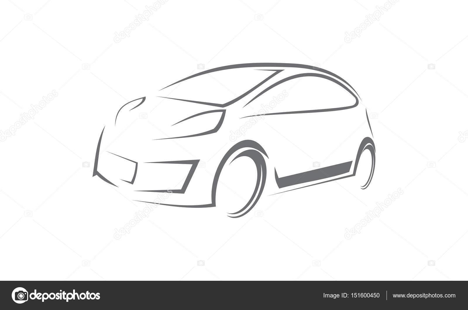 Plantilla de logotipo de coche — Foto de stock © alluranet #151600450