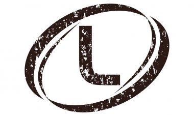 Letter L Rough Logo